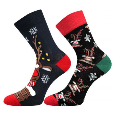 Lonka VÁNOČNÍ SOB 2P - Ponožky
