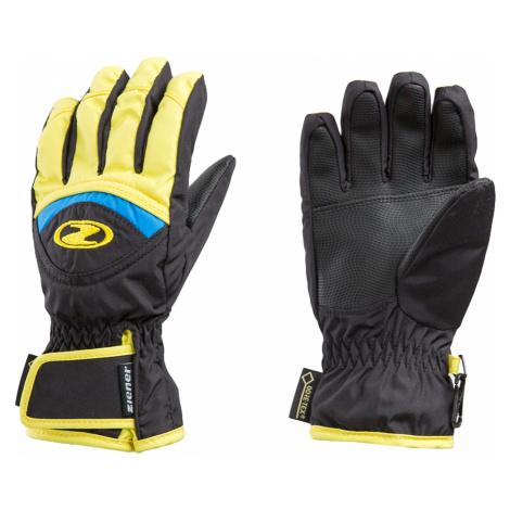 Lyžařské rukavice Ziener LARGO GTX® JUNIOR Żółty černá