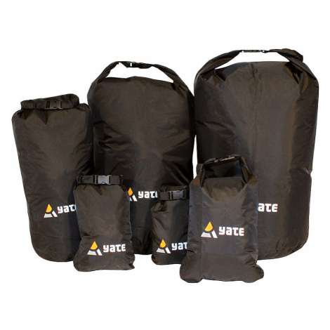 Nepromokavý vak YATE Dry Bag černá XXS