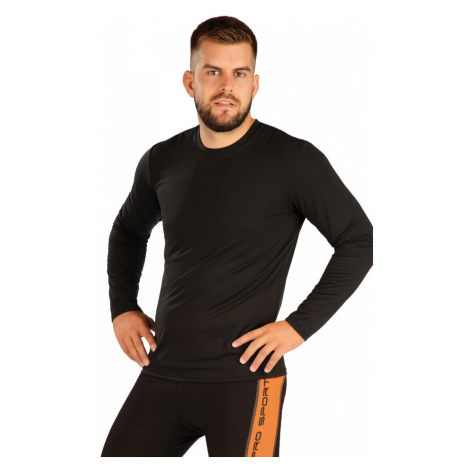 LITEX Triko pánské s dlouhým rukávem 7A271901 černá