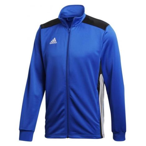 adidas REGI18 PES JKT modrá - Pánská fotbalová bunda