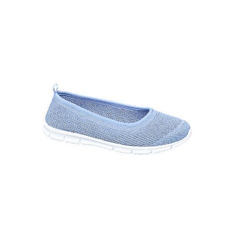 Modrá slip-on obuv Graceland