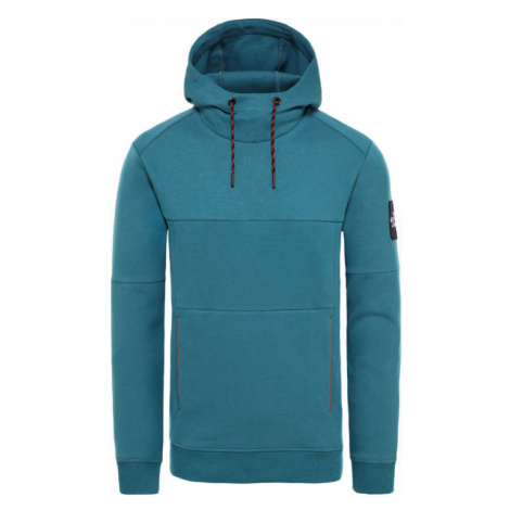The North Face M Fine 2 Hoodie Blue Coral tyrkysové T93XXYEFS