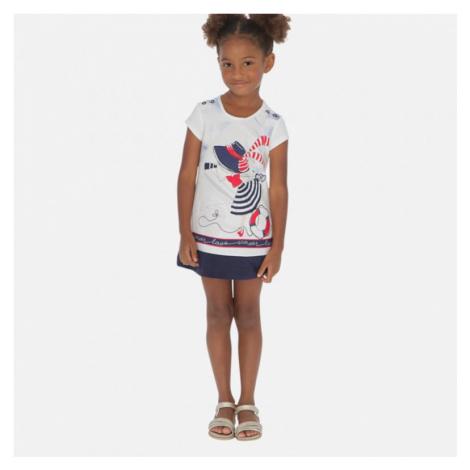 Dívčí šaty Mayoral 3936 | modrá