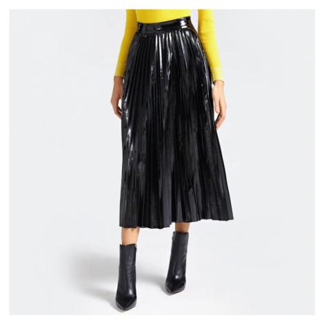 Guess dámská černá skládaná sukně