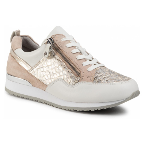 Sneakersy CAPRICE - 9-23600-24 Lt Gold/White 921