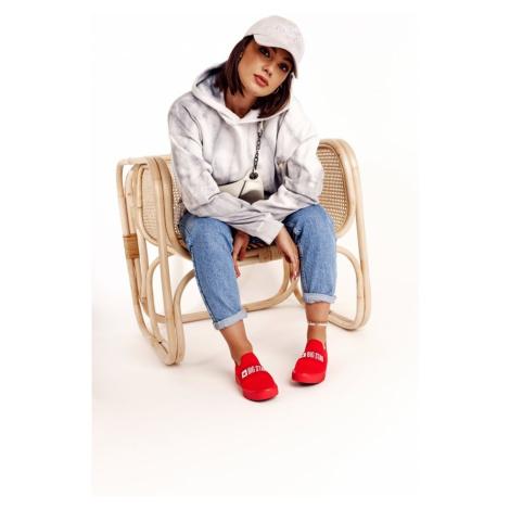 Women's Slip-on Sneakers Big Star FF274220 Red Kesi