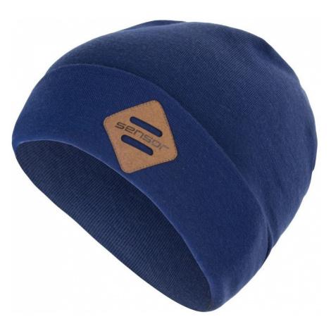 Čepice Sensor Merino Extreme Barva: tmavě modrá