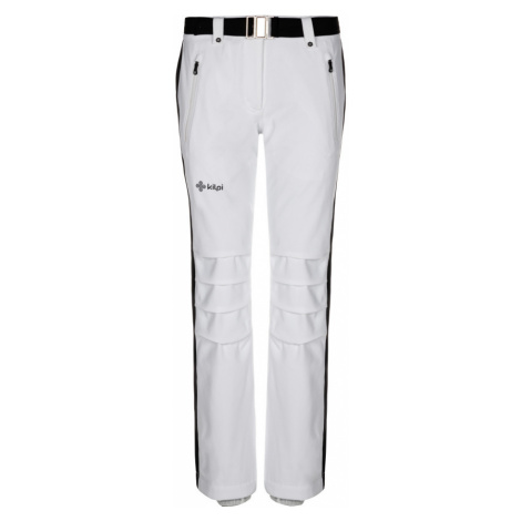 KILPI Dámské lyžařské kalhoty HANZO-W LL0039KIWHT Bílá