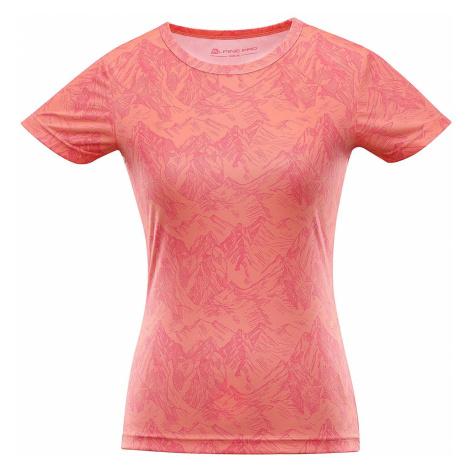 Dámské triko Alpine Pro QUARTO 5 - oranžová
