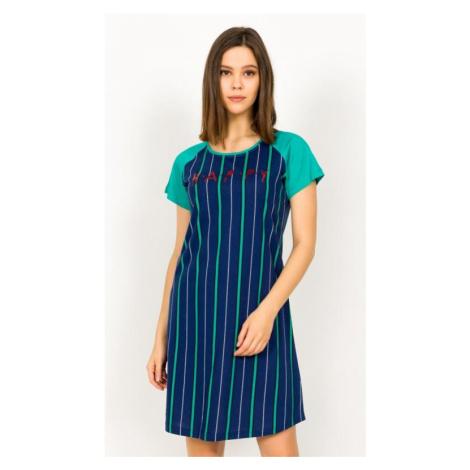 Dámská noční košile Vienetta Secret Happy | tmavě modrá
