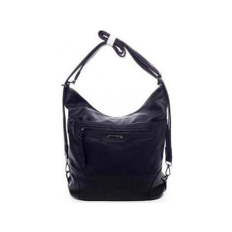 Romina Co. Bags Dámská kabelka batoh černá - Romina Zilla Černá