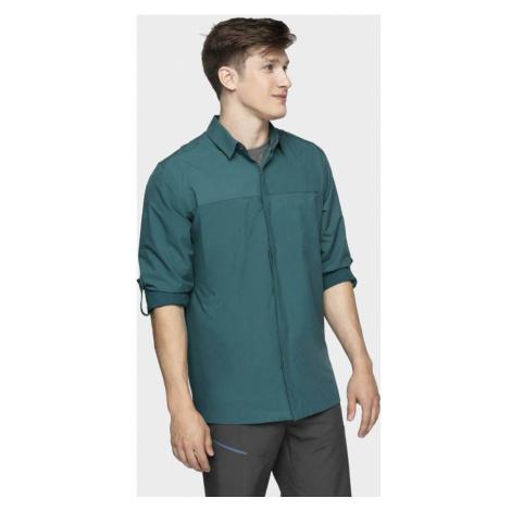 Pánská funkční košile H4L21-KDM060-32S DENIM 4F
