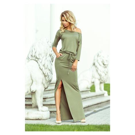 Numoco šaty dámské GEEN VI dlouhé, maxi
