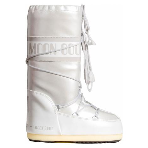 Sněhule Moon Boot VINIL MET bílá