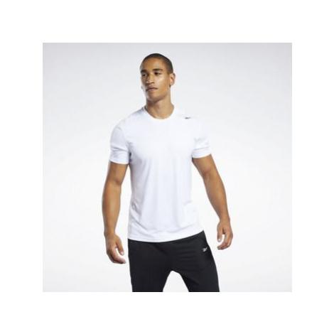 Reebok Sport Workout Ready Polyester Tech Tee Bílá