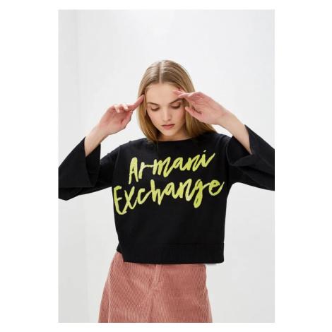 Armani Armani Exchange dámský černý pullover