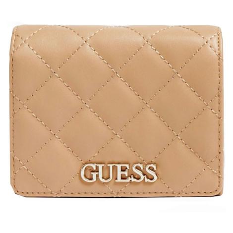 Peněženka GUESS Illy VG797043 Beige