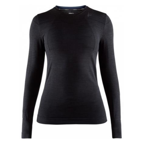Dámské tričko CRAFT Fuseknit Comfort LS černá