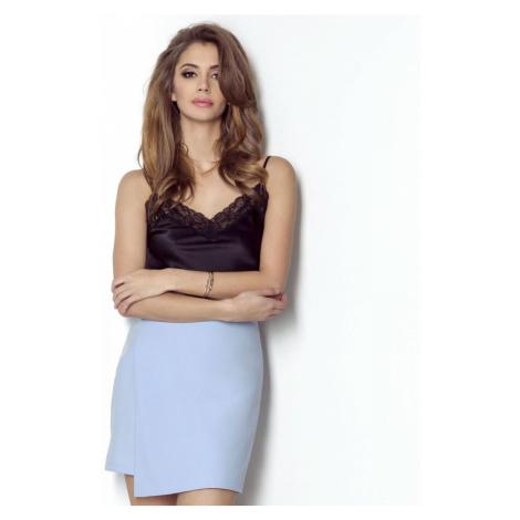 Dámská skládaná sukně ve světle modré barvě MARRY IVON
