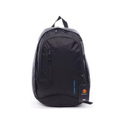 Diviley Pánsky batoh černý - Rendy Černá