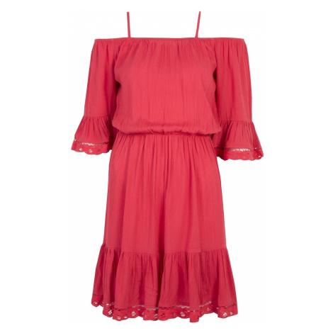 Top Secret dámské šaty s odhalenými rameny
