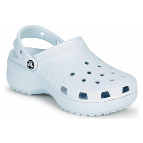 Crocs CLASSIC PLATFORM CLOG W Modrá