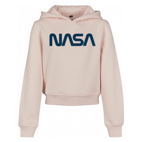 Kids NASA Cropped Hoody Urban Classics