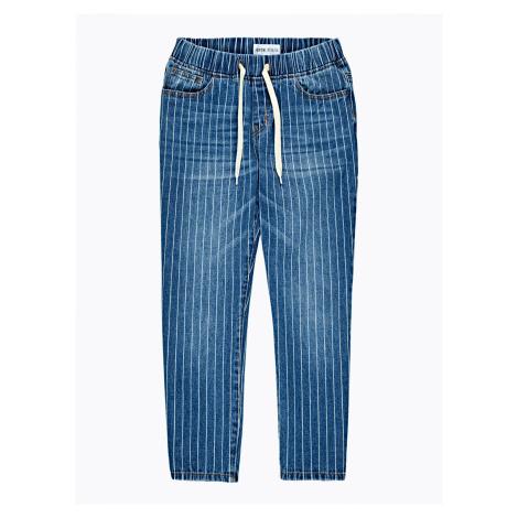 GATE Krátké džíny s proužky