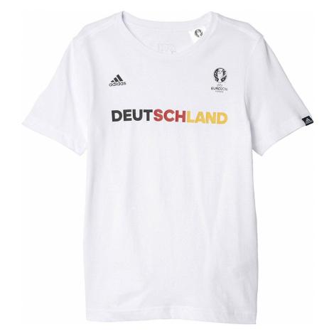 Dětské tričko adidas Germany Bílá / Více barev