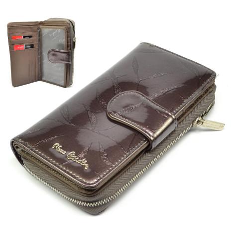 Hnědá dámská peněženka Pierre Cardin