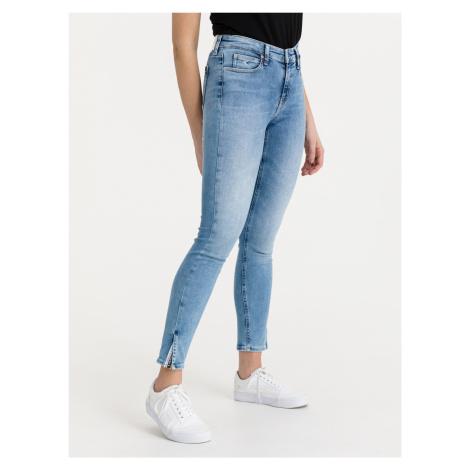 Jeans Calvin Klein Modrá