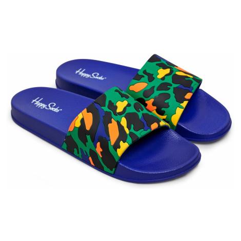 Pool Slider Leopard Happy Socks
