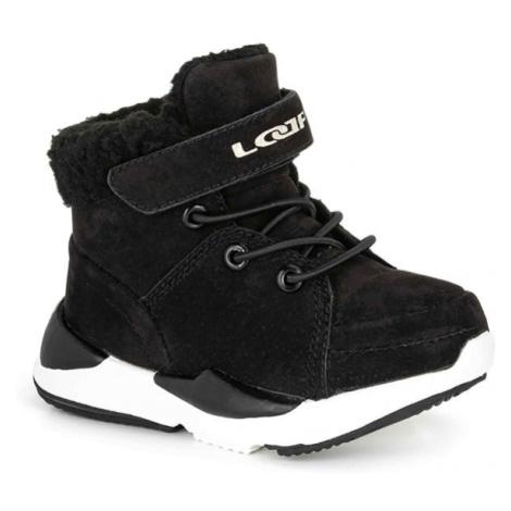 Loap JIMMA černá - Dětská zimní obuv