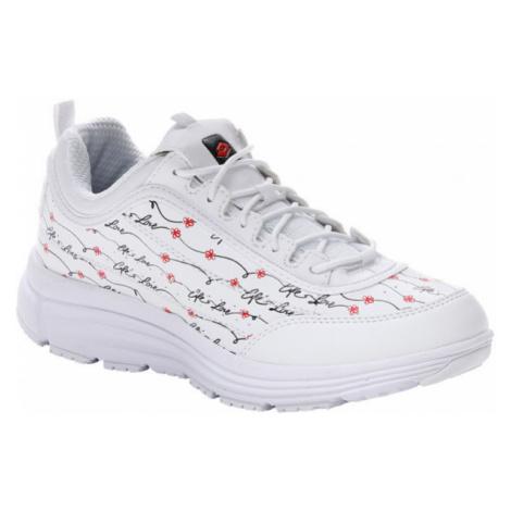 Lotto LOVE RIDE AMF PRIME PRT W bílá - Dámská volnočasová obuv