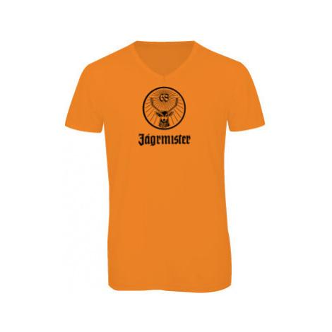 Pánské triko s výstřihem do V Jágrmistr