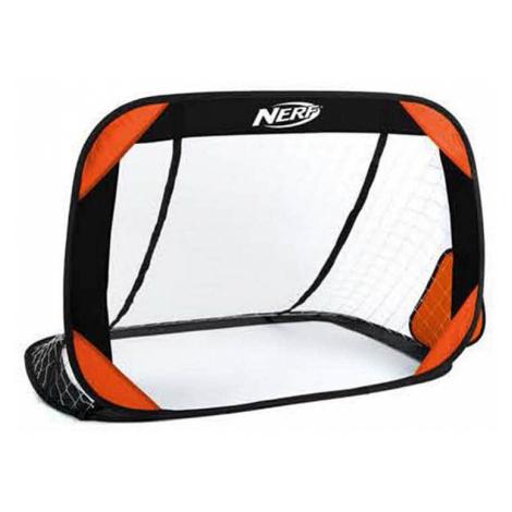 Spokey HASBRO BUCKLER Samorozkládací fotbalová branka 2 ks, zn. NERF černo-oranžová