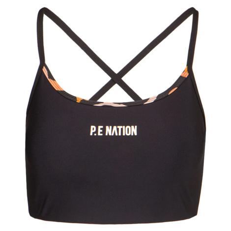 Sportovní top P.E Nation SET SHOT SPORTS černá PE Nation