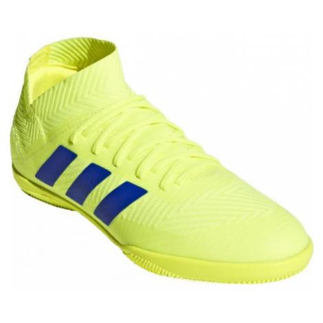 adidas NEMEZIZ 18.3 IN J žlutá - Dětské sálovky