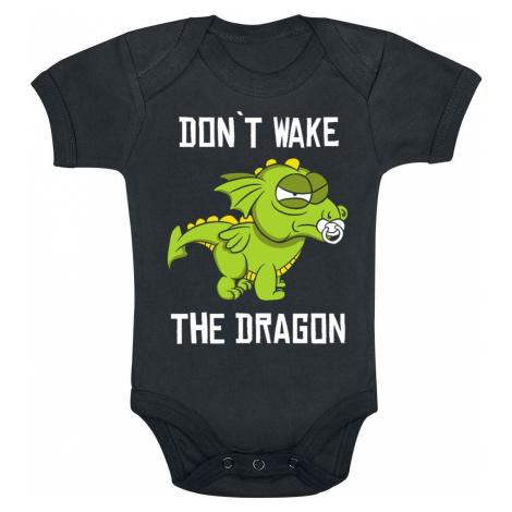 Don't Wake The Dragon body černá