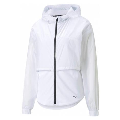 Dámská tréninková bunda Puma s kapucí Bílá / Černá