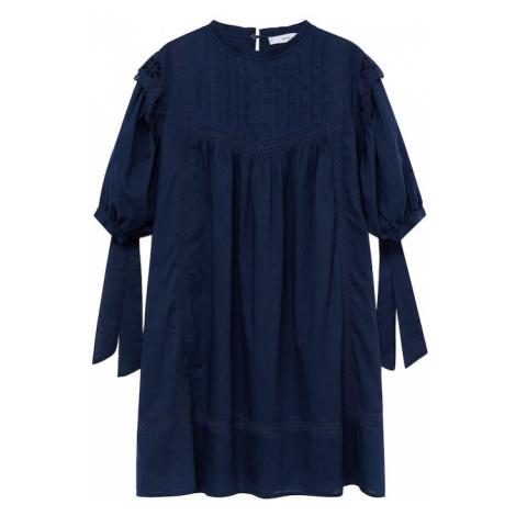 MANGO Šaty 'Atlas-H' námořnická modř