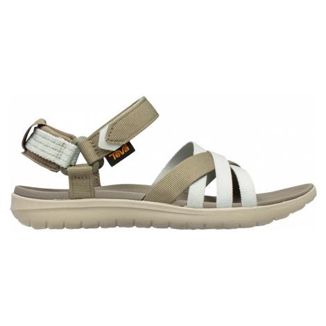 Teva Sanborn Sandal L, olivová/bílá Dámské sandále
