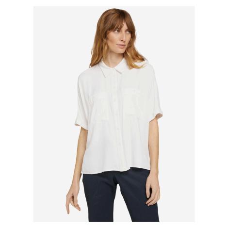 Košile Tom Tailor Bílá