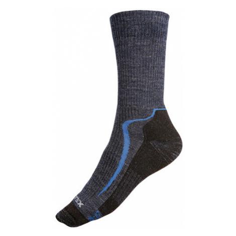 Litex 99645 Sportovní vlněné MERINO ponožky   modrá