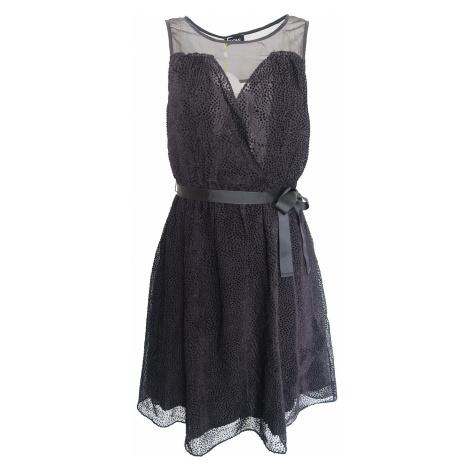 Černé šaty se stuhou Kookai Kookaï