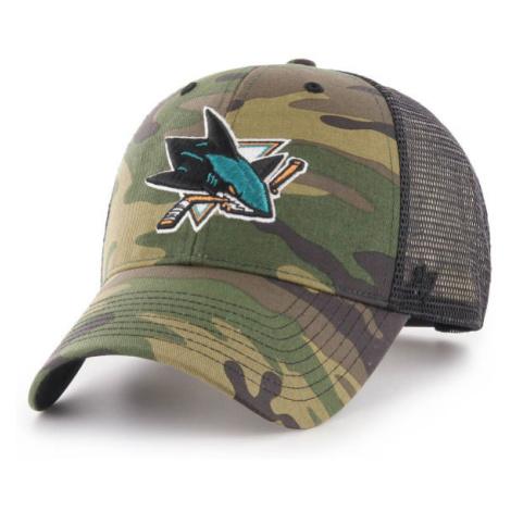 47 NHL SAN JOSE SHARKS CAMO BRANSON 47 MVP zelená - Kšiltovka