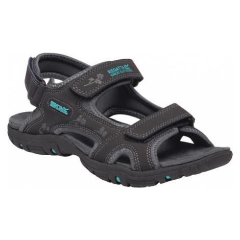 Dámské lehké sandály REGATTA RWF331 Lady Haris Tmavě šedé