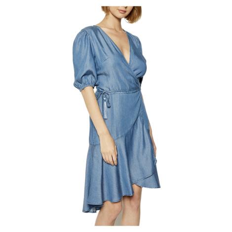Modré džínové šaty - GUESS