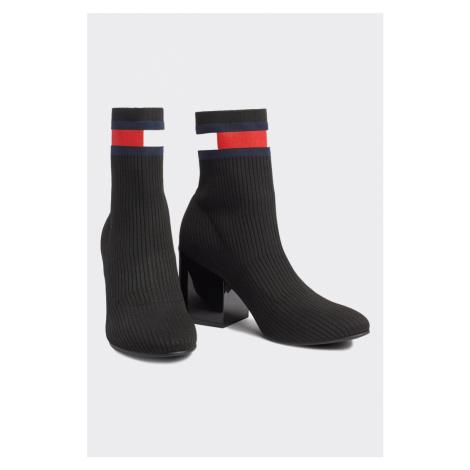 Tommy Hilfiger Flag Boots - černé